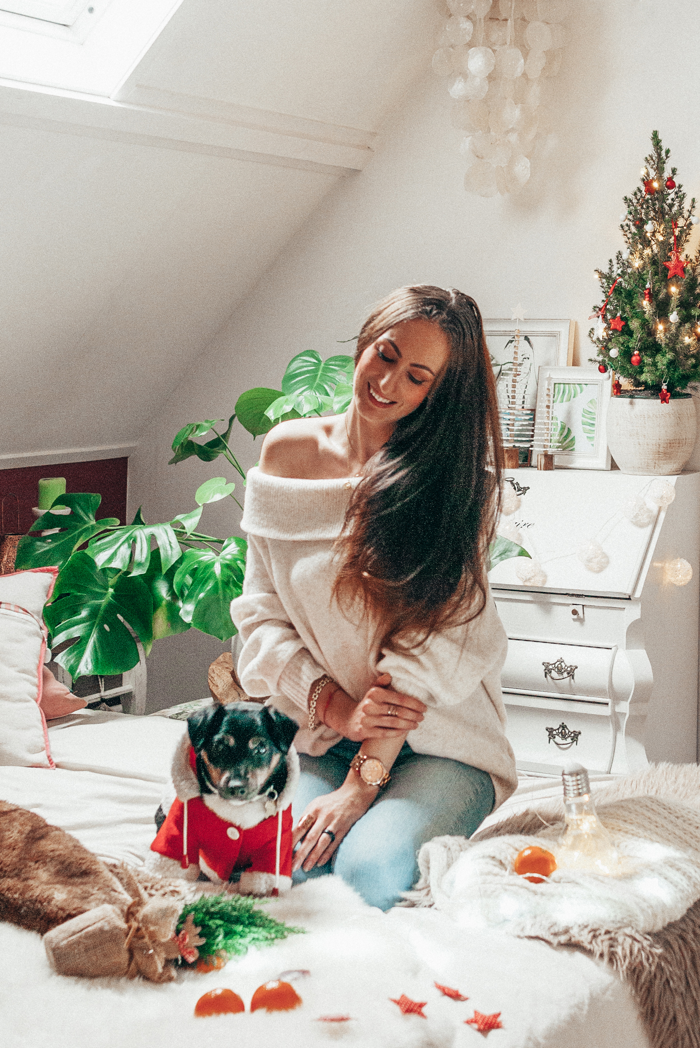 Christmas Outfit lifestyle by linda