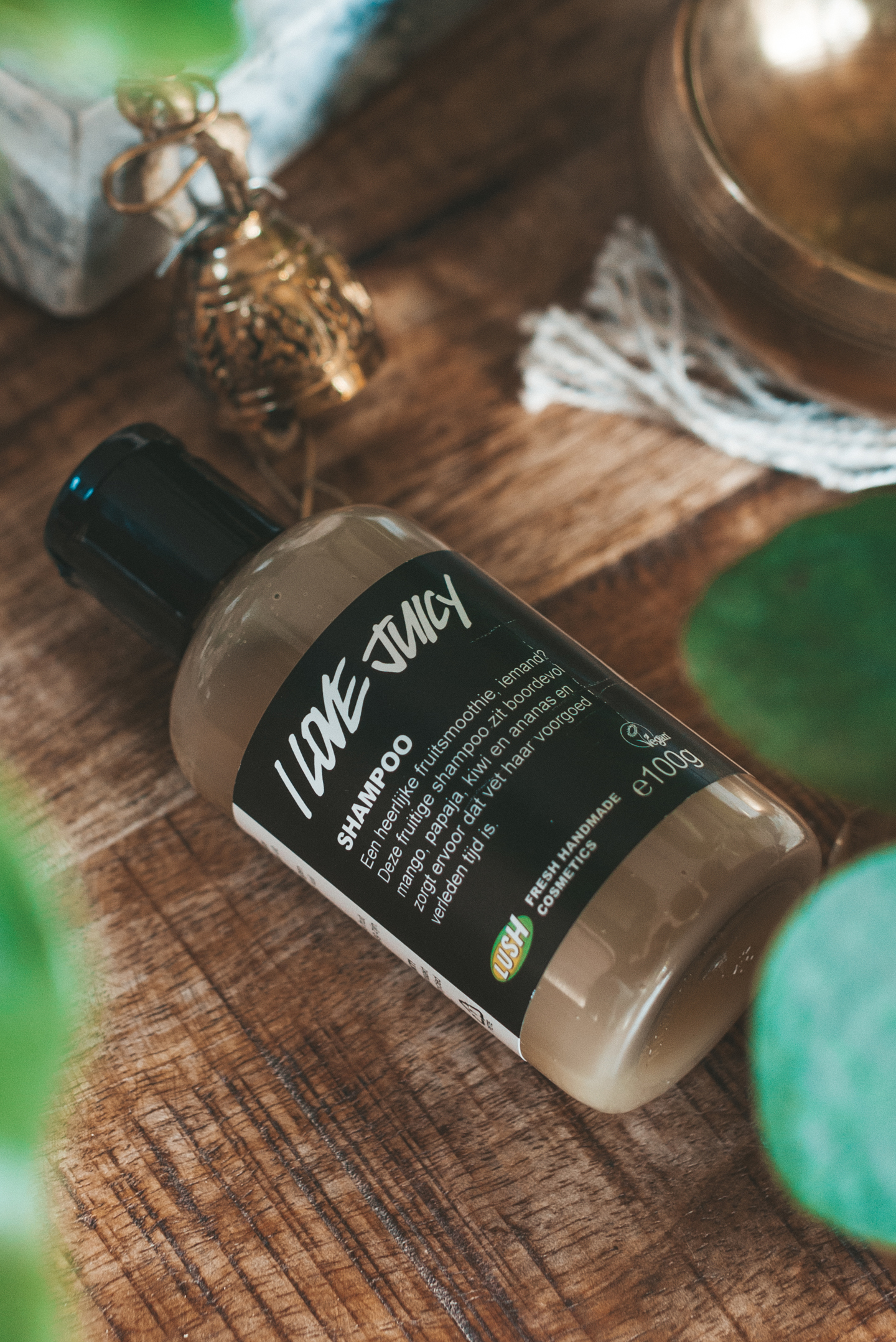 Lush vegan Haircare I Love Juicy shampoo