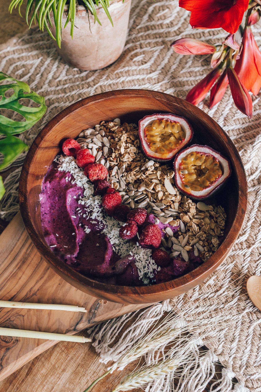 Nice Cream Breakfast Bowl recept vegan