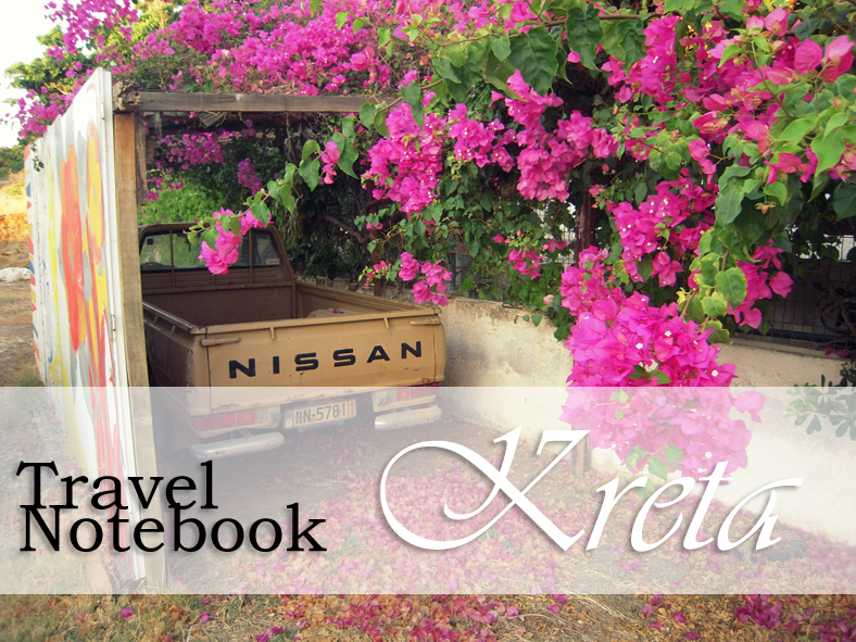 Travel Notebook | Typisch Kreta