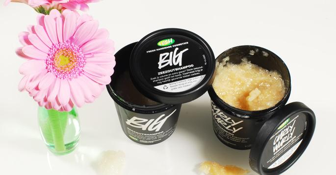 Lush shampoo uitgelicht