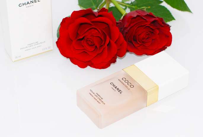 1CHANEL Coco Mademoiselle eau de parfum perfume voor het haar review ervaring high-end hairmist