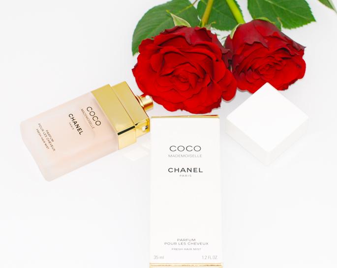 CHANEL Coco Mademoiselle eau de parfum perfume voor het haar review ervaring high-end hairmist