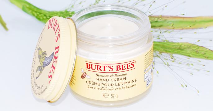 Burts Bees hand cream uitgelicht