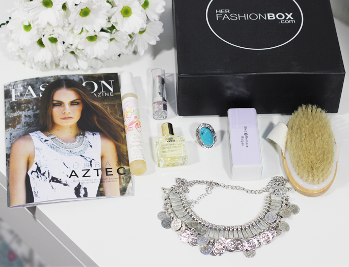 Her fashion box januari 2015 , HFB