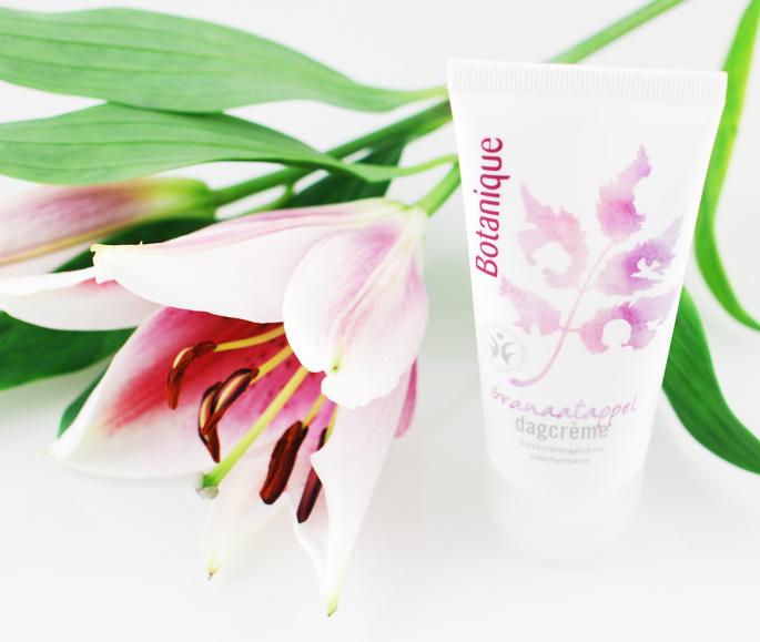 Granaatappel dagcrème Botanique voor de gevoelige huid review