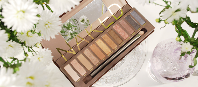 Beginnen met opmaken make-up beauty geheim basis basics begin bij een goede basis urban decay naked 1 palette