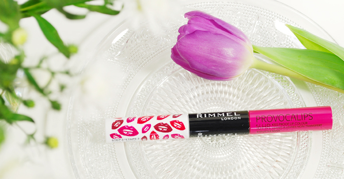 Provocalips 310 little minx kiss proof lip colour rimmel london vera camilla Xprovocalips review beauty blog lifestyle by linda