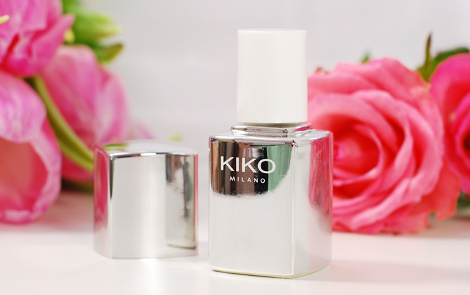 KIKO milano review perfect gell duo nail laquer set de vernis 674 fuchsia swatch nails blog lifestyle by linda
