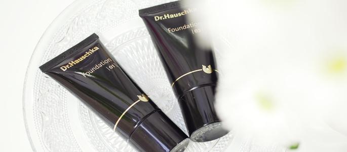 Beginnen met opmaken make-up  natuurlijke foundation Dr. Hauschka 01 03
