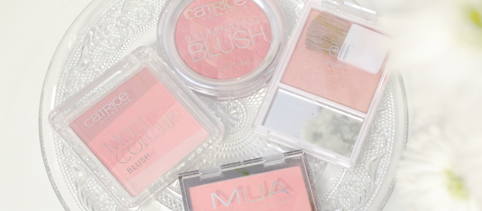 Beginnen met opmaken make-up  budget blush e.l.f. catrice MUA
