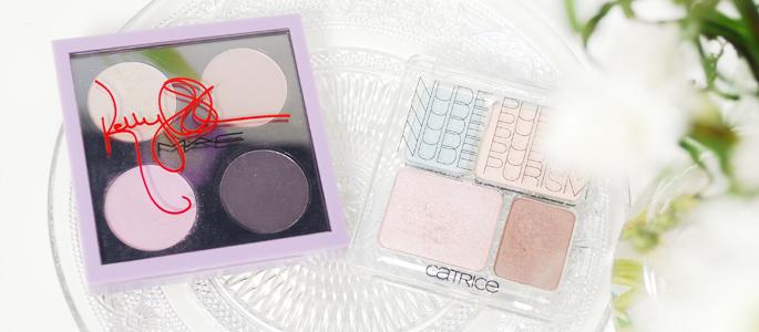 Beginnen met opmaken make-up  oogschaduw palette MAC Catrice Kelly Osbourne paars nude nude purism