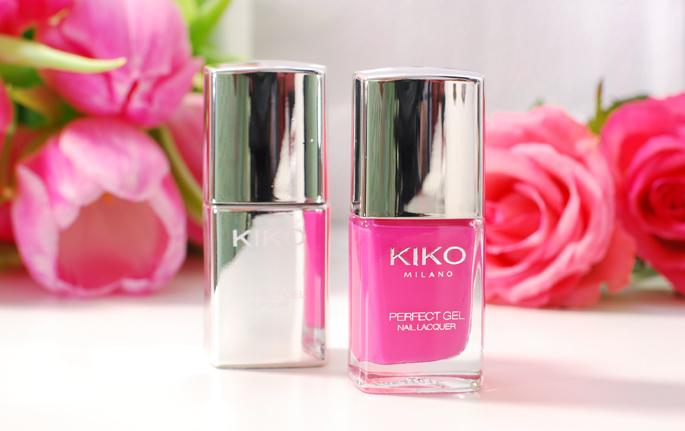 KIKO milano review perfect gell duo nail laquer set de vernis 674 fuchsia swatch nails blog lifestyle by linda gel nagellak