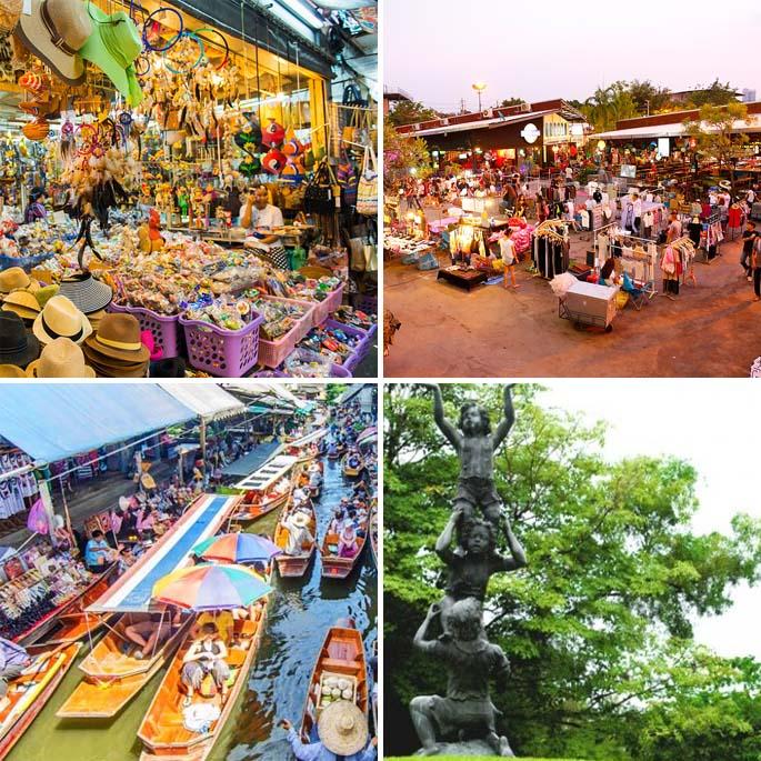 JJ Green for fashion bangkok Rot Fai Park or tor kor market bangkok Chatuchak Weekend Market bangkok in een 1 dag