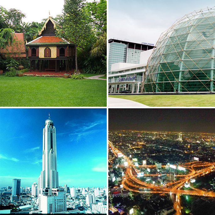 Baiyoke Sky Hotel 360-degree revolving view deck King Power Duty Free Mall Suan Pakkad Palace bangkok voor 1 dag