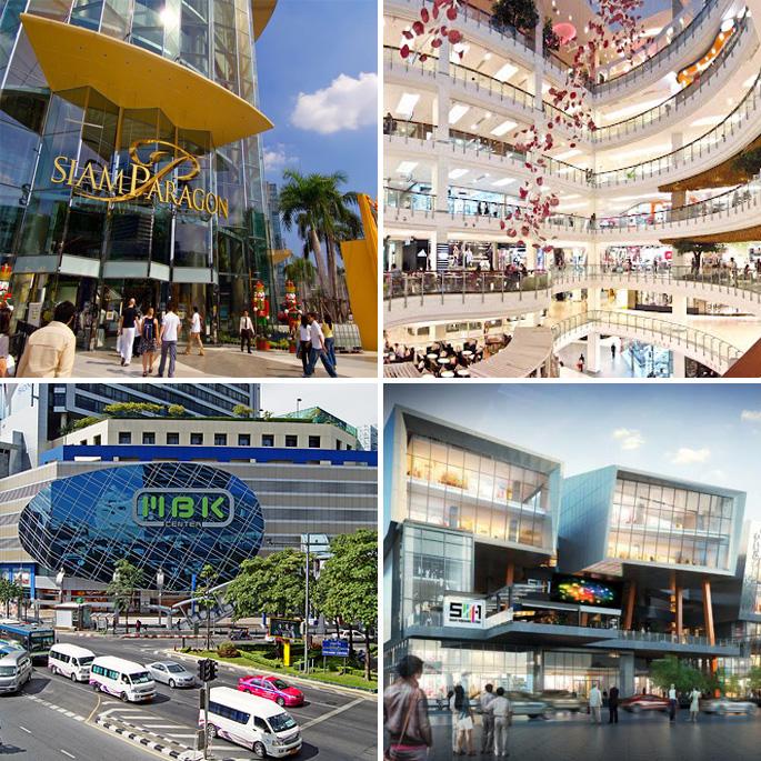 bangkok voor een dag winkel centra's fashion luxe
