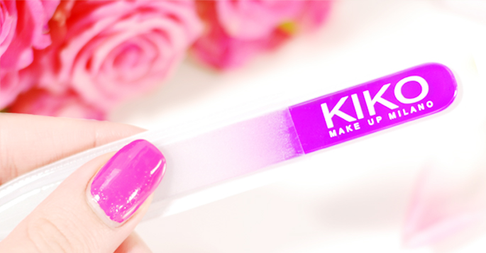 kiko milano nagelvijl review glas vijl budget goedkoop review beauty blog lifestyle by linda