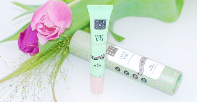 rituals lipgloss Pure Gloss Eve's kiss apple & karité silky review blog beauty blogger lifestyle by linda