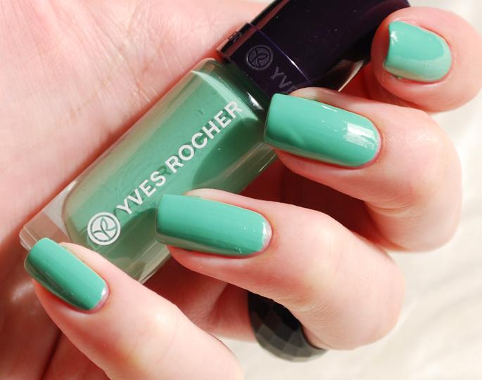 couleurs vegetable Yves Rocher nagellak 50 nieuwe kleuren Elemihars YR nagellak swatch Lifestyle by Linda beauty blog make-up 71 menthe