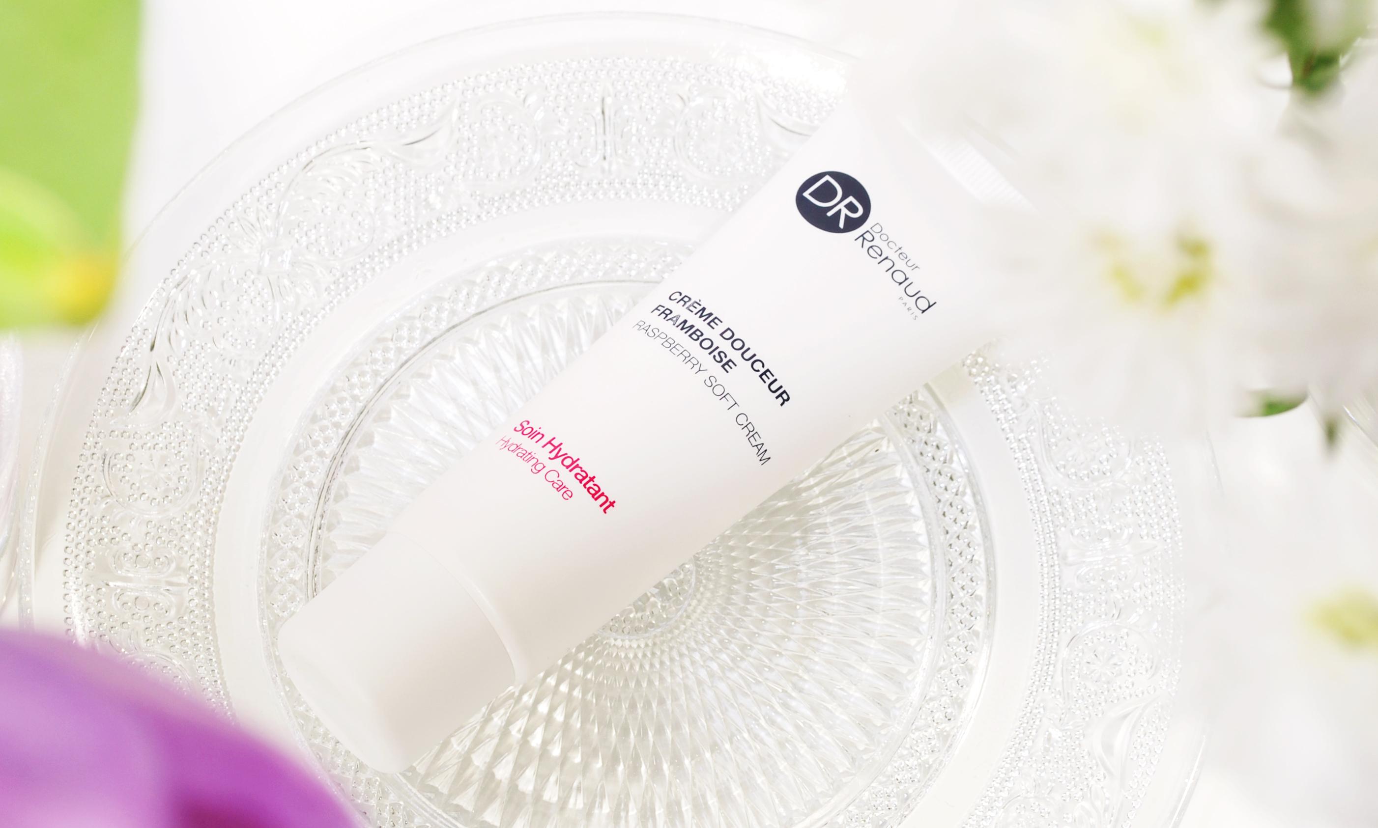 Crème Douceur Framboise DR Docteur Renaud Paris raspberry soft cream soin hydratant hydrating care geschikt voor de normale, enigzins droge huid review lifestyle by linda