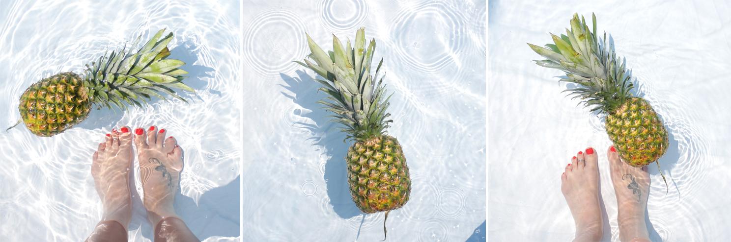 summer bucket list ananas pineapple lifestyle by linda