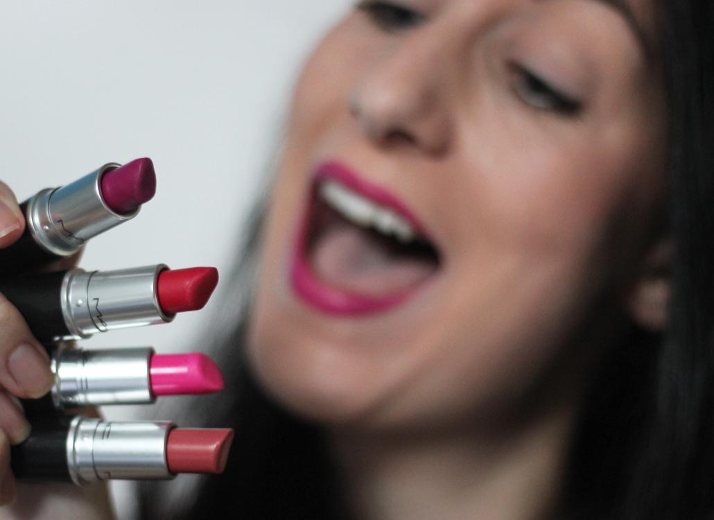 MAC lipstick stash lifestyle by linda