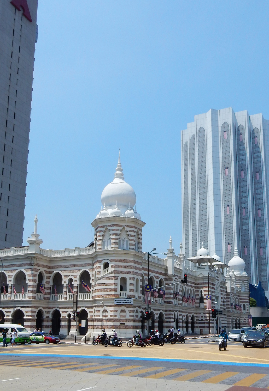 Kuala Lumpur Merdeka Square walking tour lonely planet wandel route stad maleisie