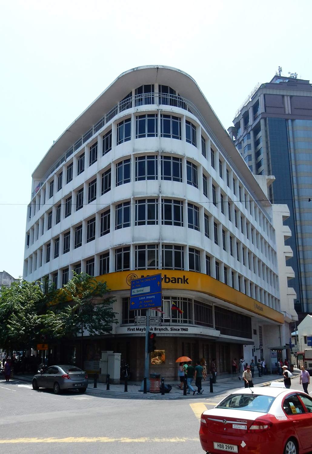 Kuala Lumpur walking tour lonely planet wandel route stad maleisie oldest bank