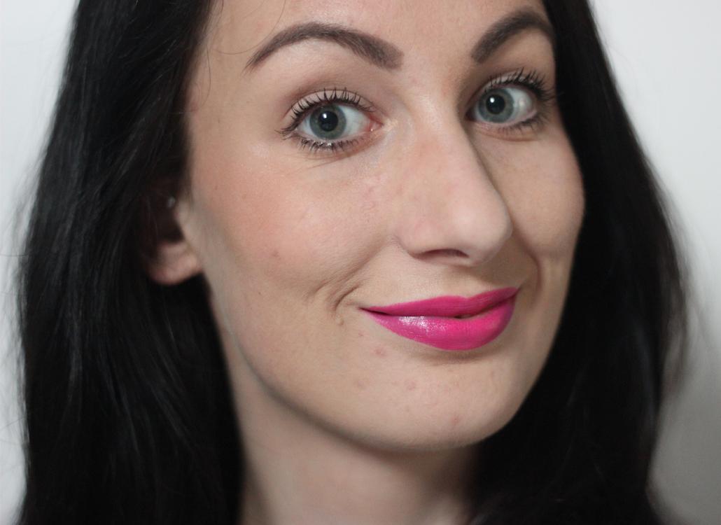 MAC Cosmetics Satin Kelly Yum Yum full face lifestyle by linda