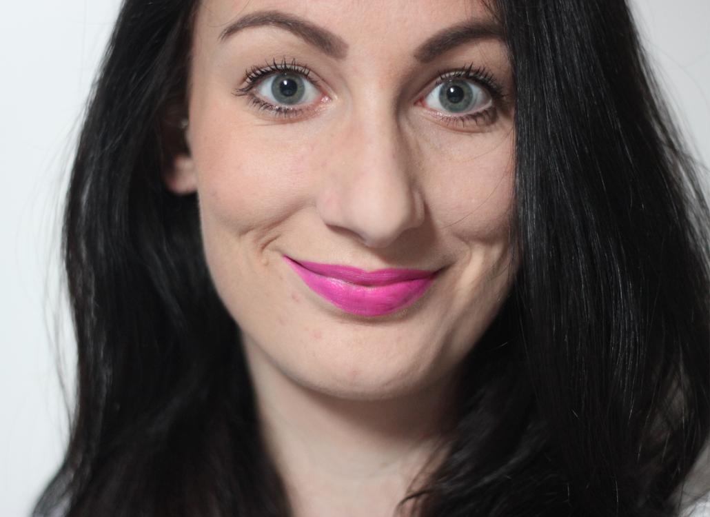 MAC Cosmetics Matte Candy Yum-Yum full face lifestyle by linda