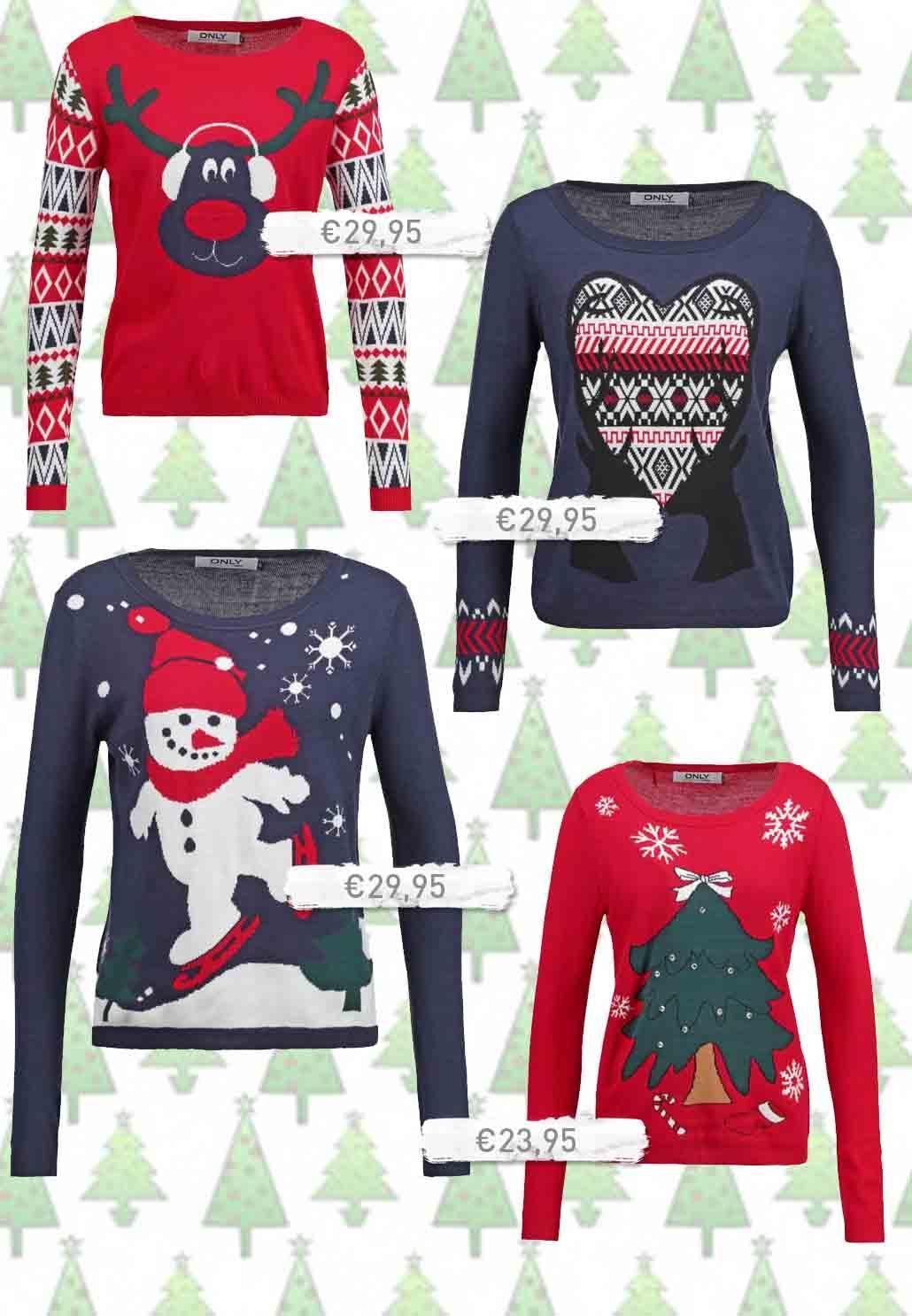 De leukste foute kersttruien kerst trui truien
