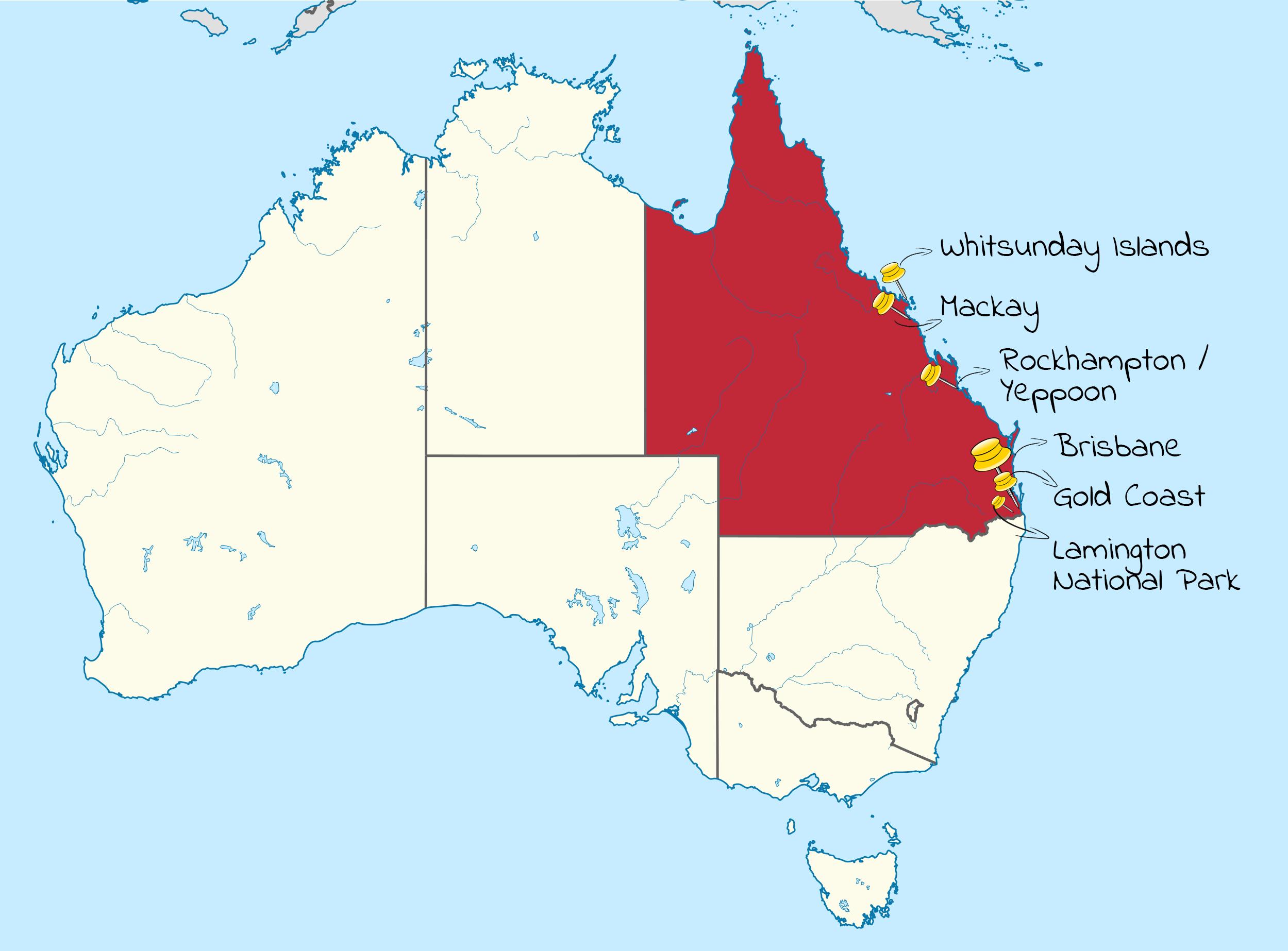 reis plannen australie route queensland