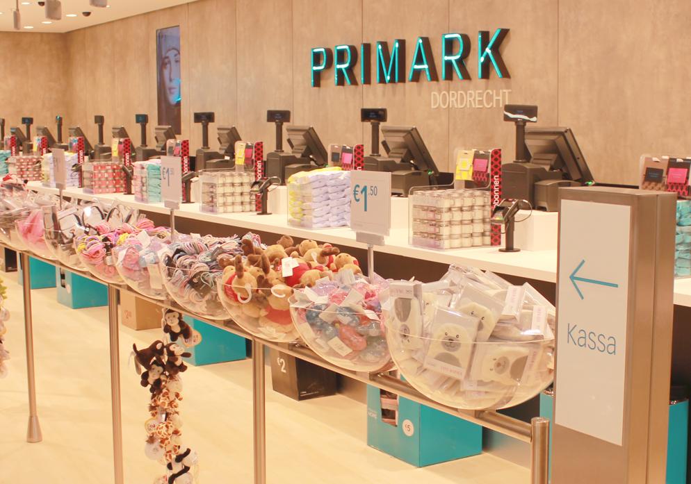 pers opening Primark Dordrecht winkel centrum Drievriendenhof