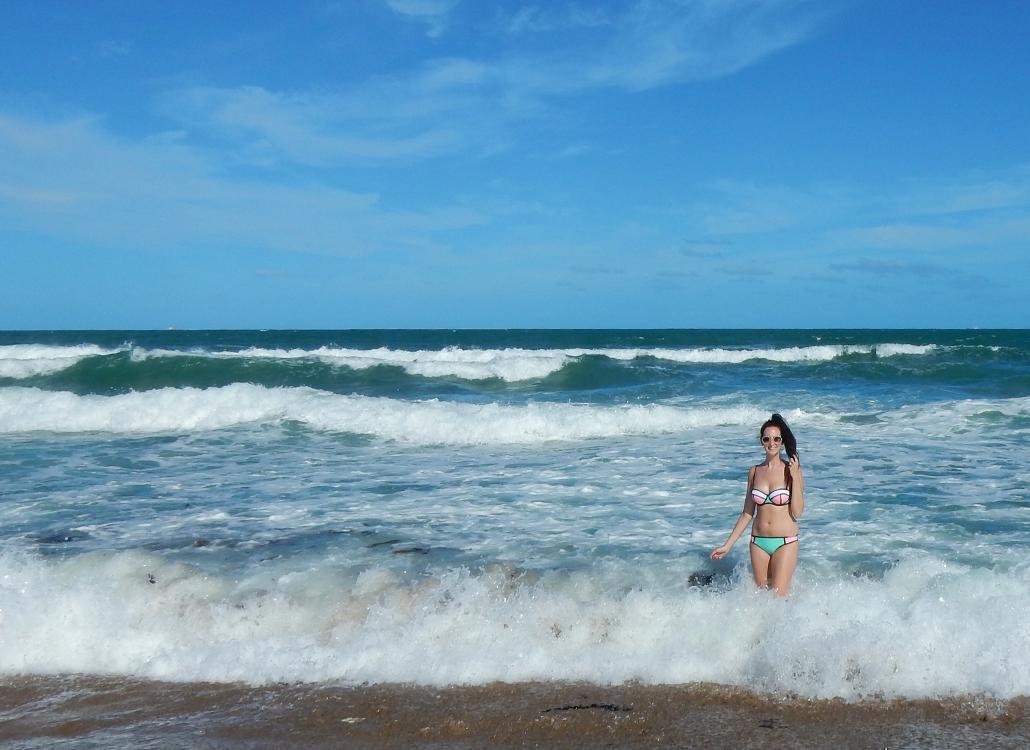 Poppy - Flamingo Fling bikini Triangl swimwear mackay beach australia