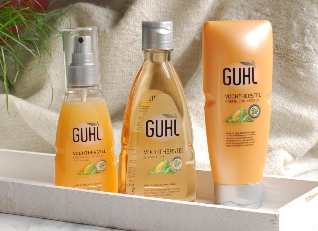 Guhl Vochtherstel haarlijn shampoo conditoiner crèmespoeling Daily Moisture Spray review