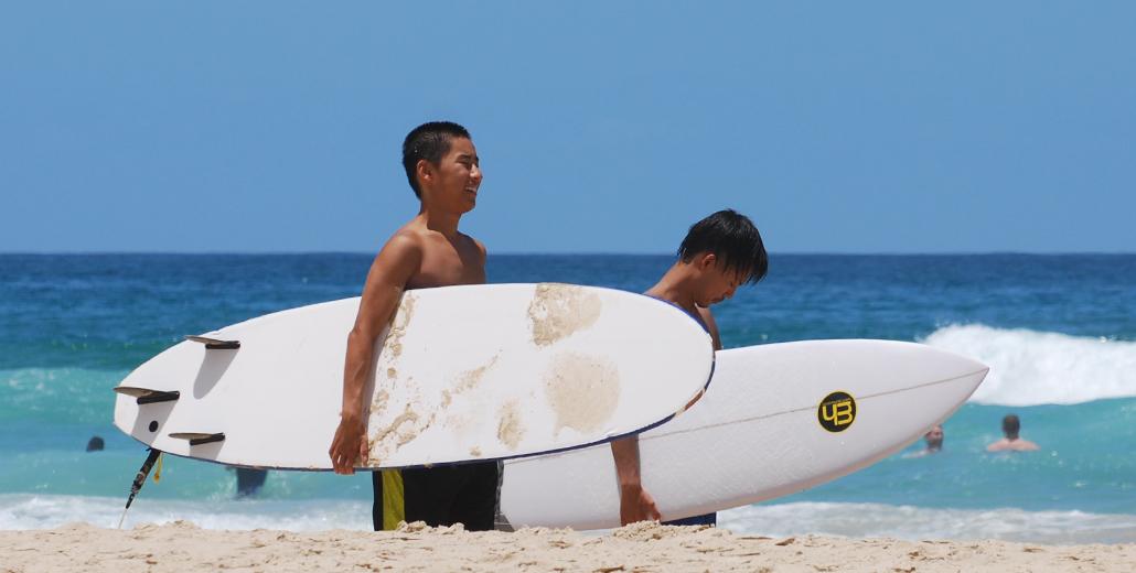 Het surfers hart van de Gold Coast | Surfers Paradise