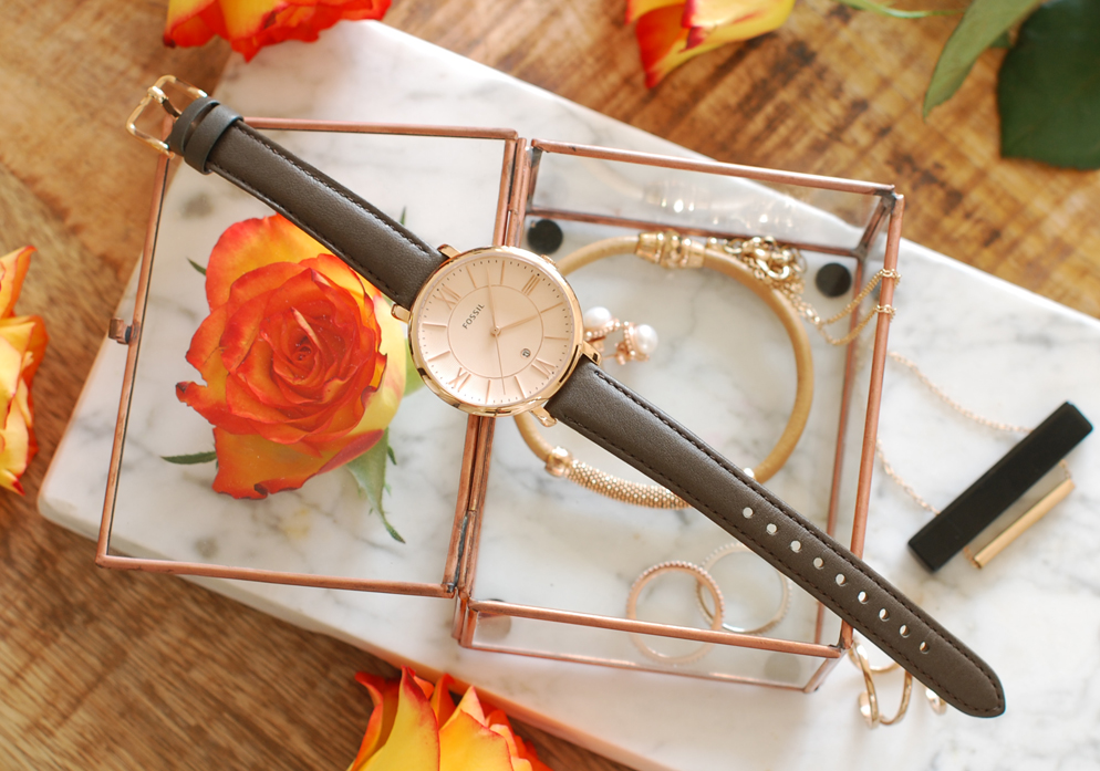 Fossil watch, lifestyle by linda