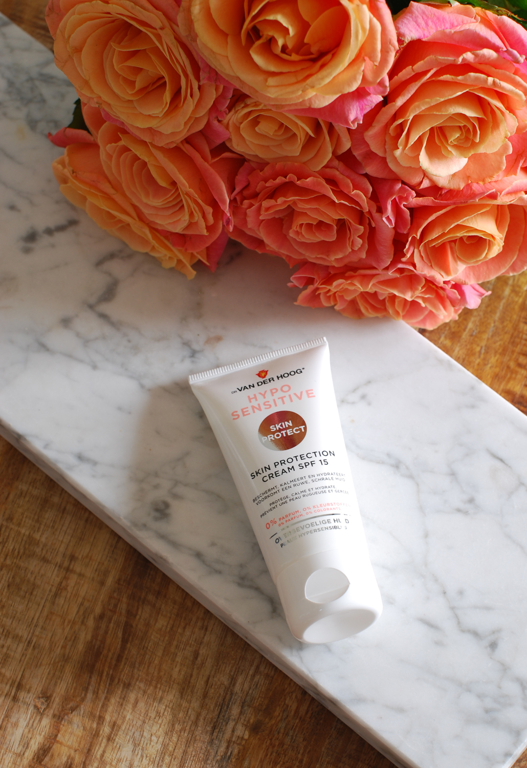 hypo sensitive skin protect protection cream spf 15 dr van der Hoog review