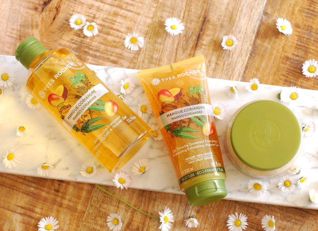 Les Plaisirs nature Yves Rocher review mango lifetsyle by linda