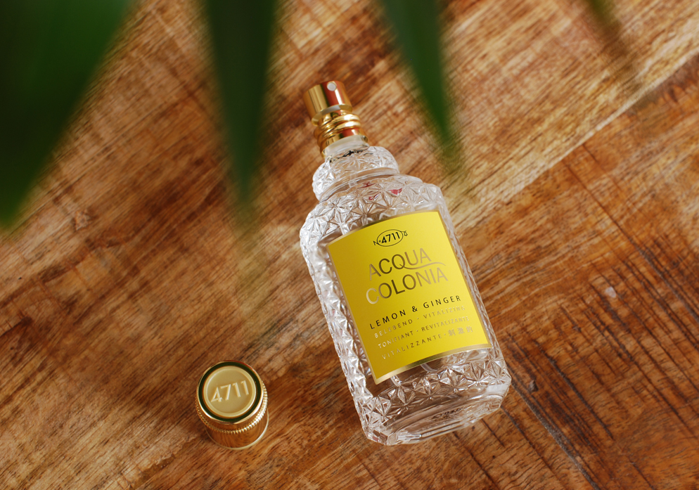 4711 Acqua Colonia Lemon & Ginger Eau de Cologne Lifestyle by Linda