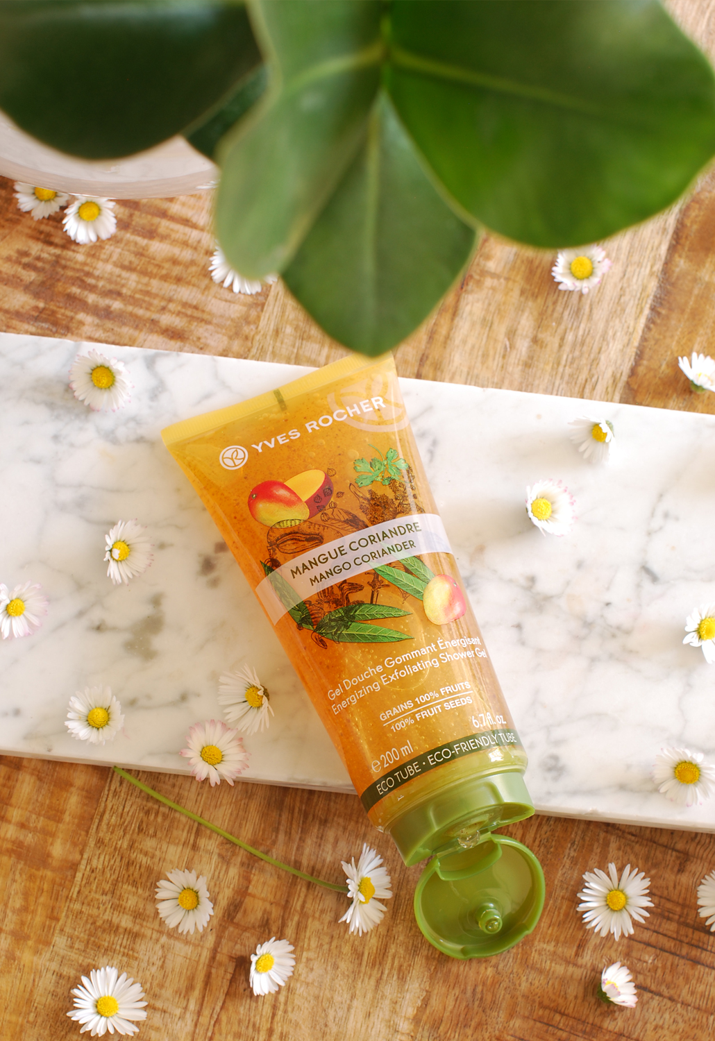 Les Plaisirs nature Yves Rocher review mango lifetsyle by linda energie