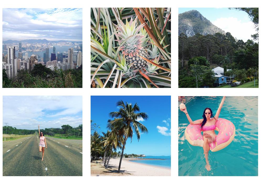 Mijn 9 populairste Instagram Travel foto's Instagram best 9 travel lifestyle by linda