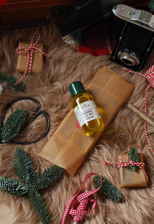Erica herbals kruiderijen massage olie met arnica