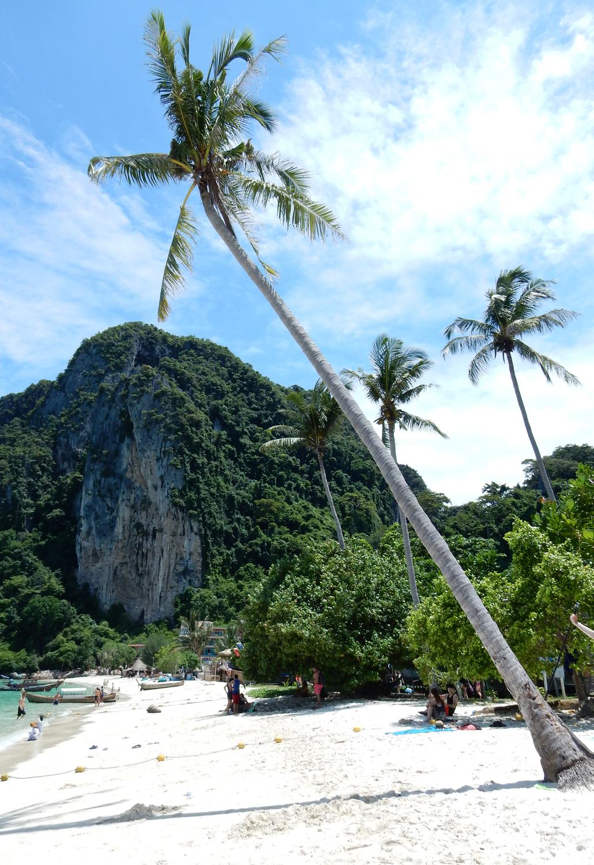 naar thailand reis route