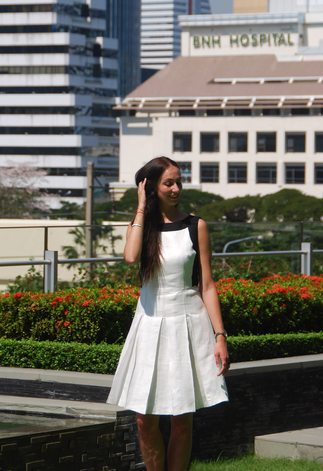MC Monique Collignon The Conscious collection SS17 OOTD Bangkok Beyond Bollywood What I Wore in Bangkok Marriott