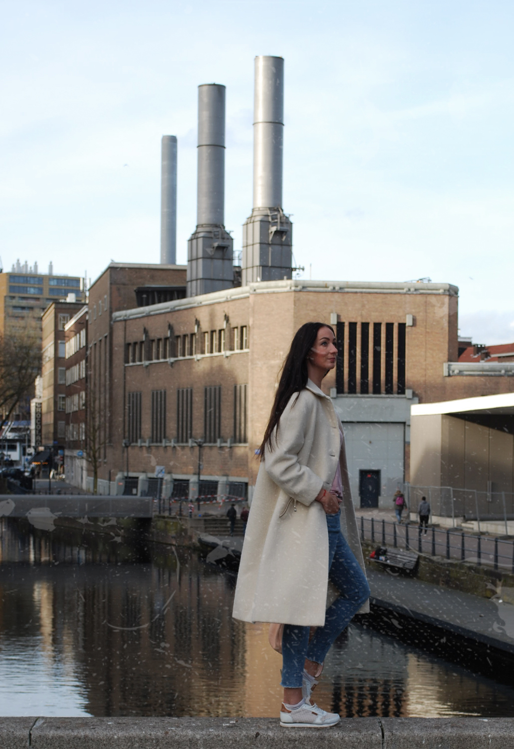 lama-laine OOTD Rotterdam Vintage coat slow fashion melting pot kilo