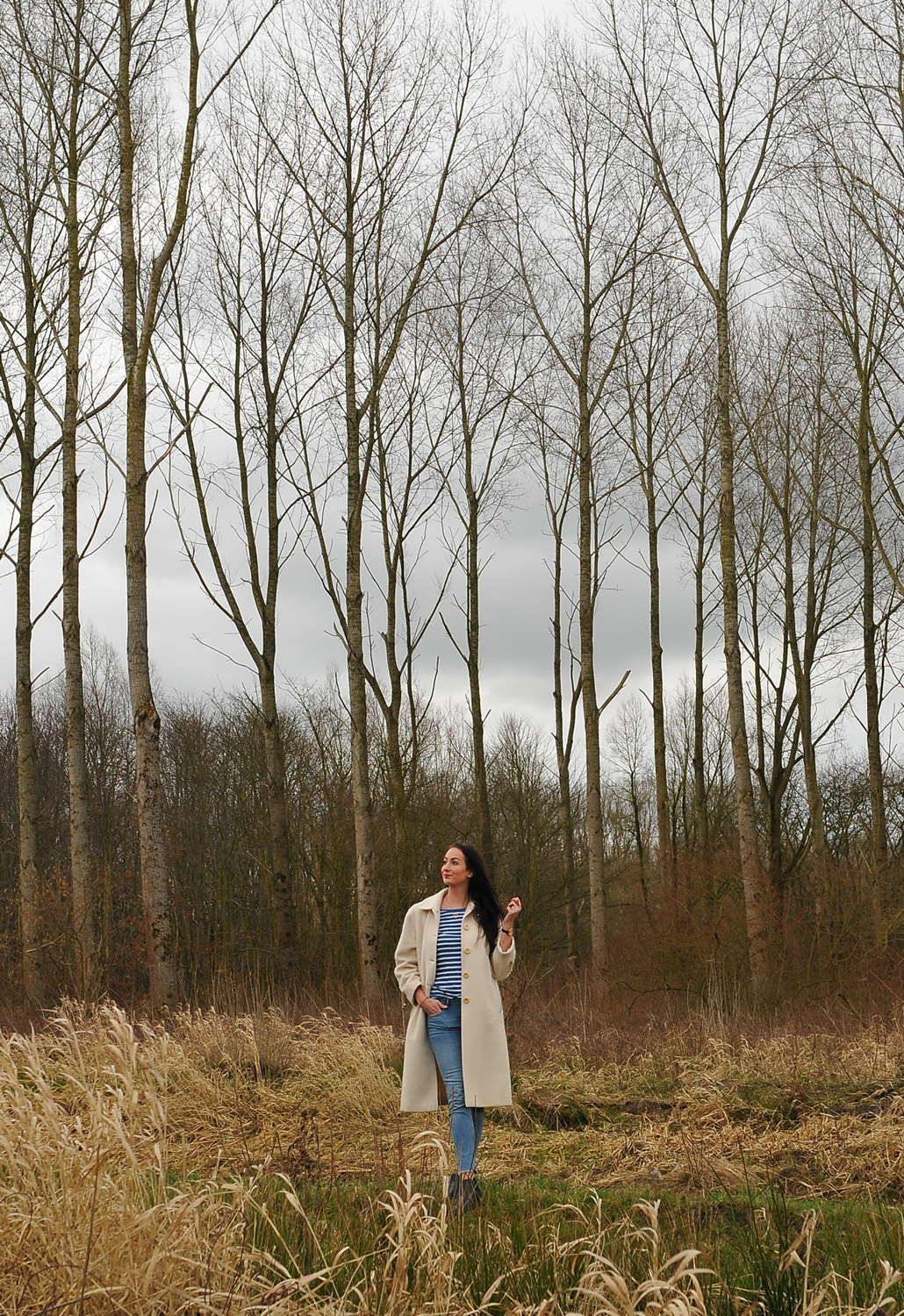 Light as a feather - OOTD Biesbosch