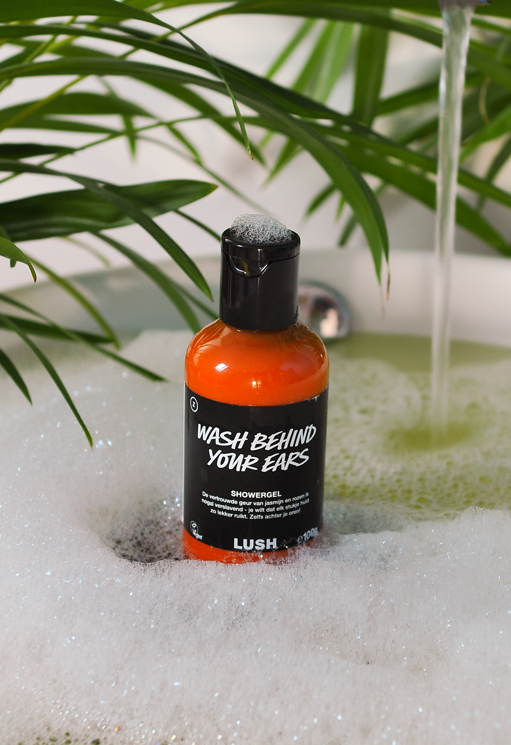 LUSH Wash Behind Your Ears Showergel Pasen