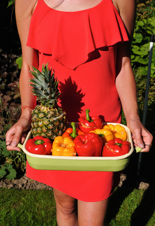 Healthy Vegan BBQ gevulde ananas recept