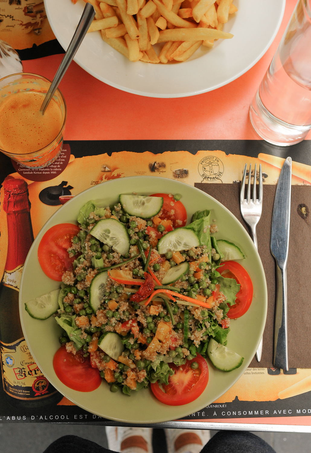 What I ate in France Vegan hotspots